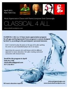 Classical 4 All - April