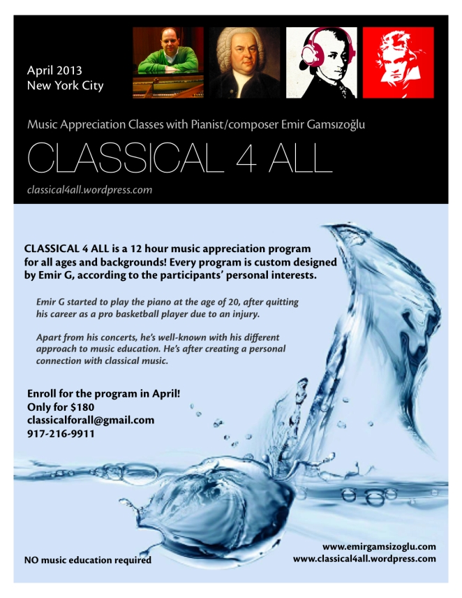 Classical 4 All - April