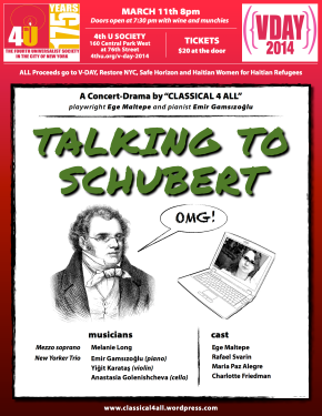 Talking to Schubert - a theatrical concert