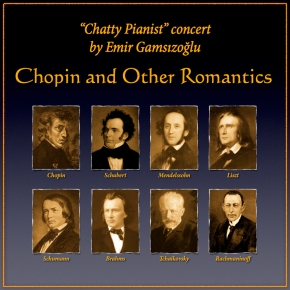 Chopin & Other Romantics, Greenwich House Music, April 11th, 2014