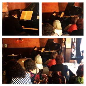 Schumann at Caffe Vivaldi