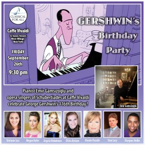 Gershwin's b-day party - 2014