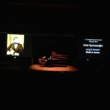 Chatty Pianist - Music and The Boundaries 15th International Antalya Piano Festival