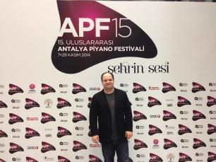 Emir Gamsizoglu at 15th International Antalya Piano Festival