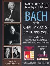 Bach with CHATTY PIANIST