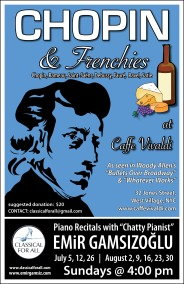 Chopin & Frenchies (Summer 2015)