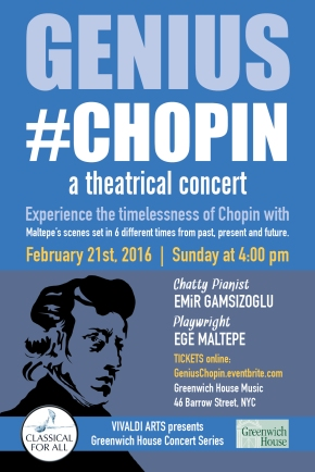 Genius #Chopin - a theatrical concert